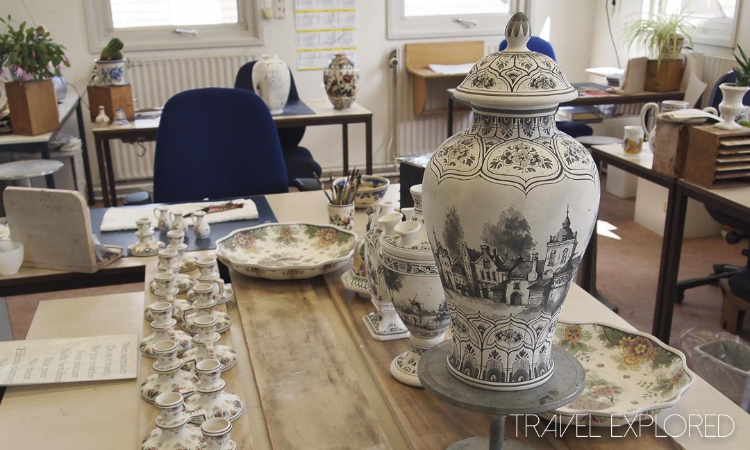 Amsterdam - Delft Delftware
