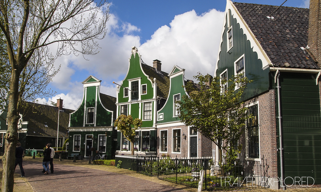 Amsterdam - Zaanse Schans Buildings
