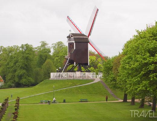 Bruges - 1 of 4 Windmills left in Bruges