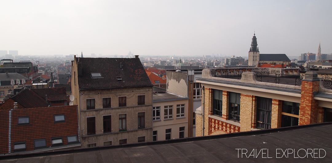 Brussels - View over the rooftops