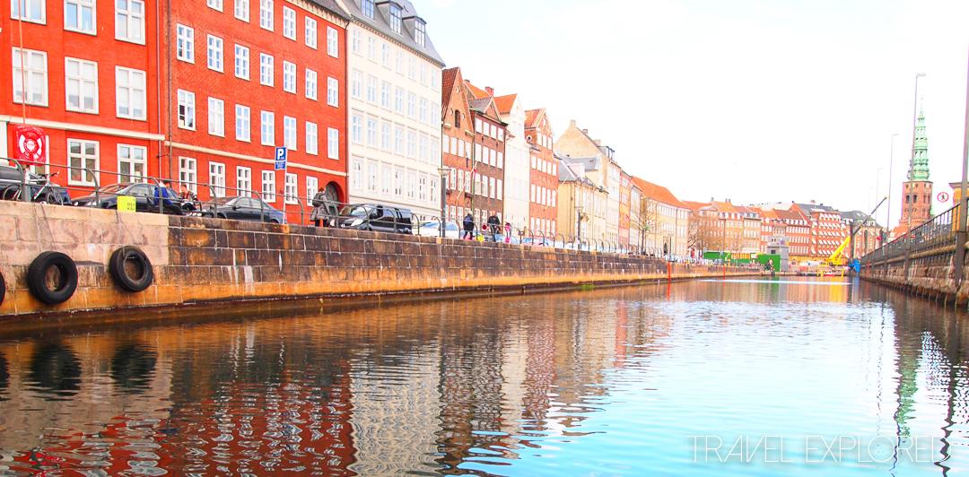 Copenhagen - Houses along canal