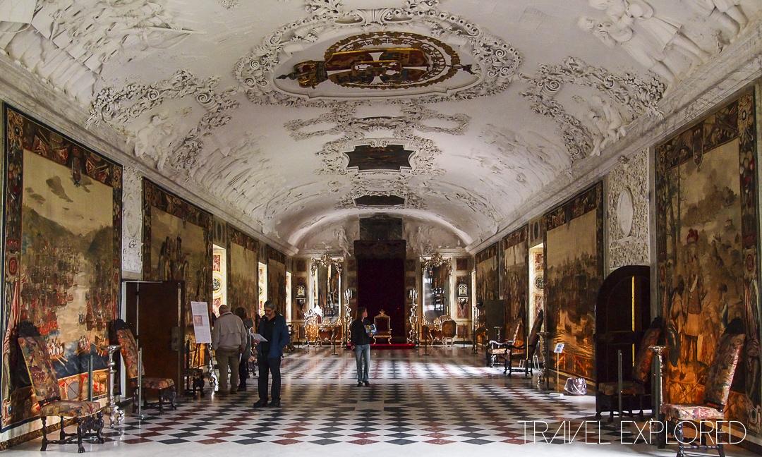 Copenhagen - Rosenberg Castle Inside