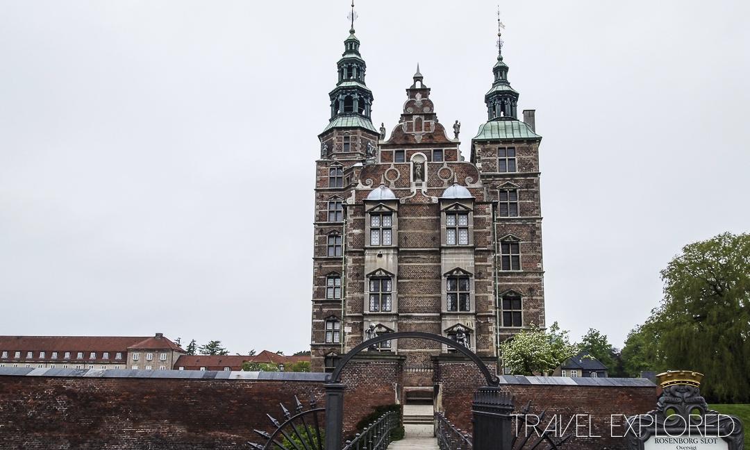 Copenhagen - Rosenberg Castle Outside