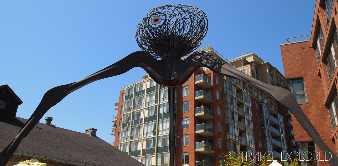 Toronto - Distillery District Sculpture