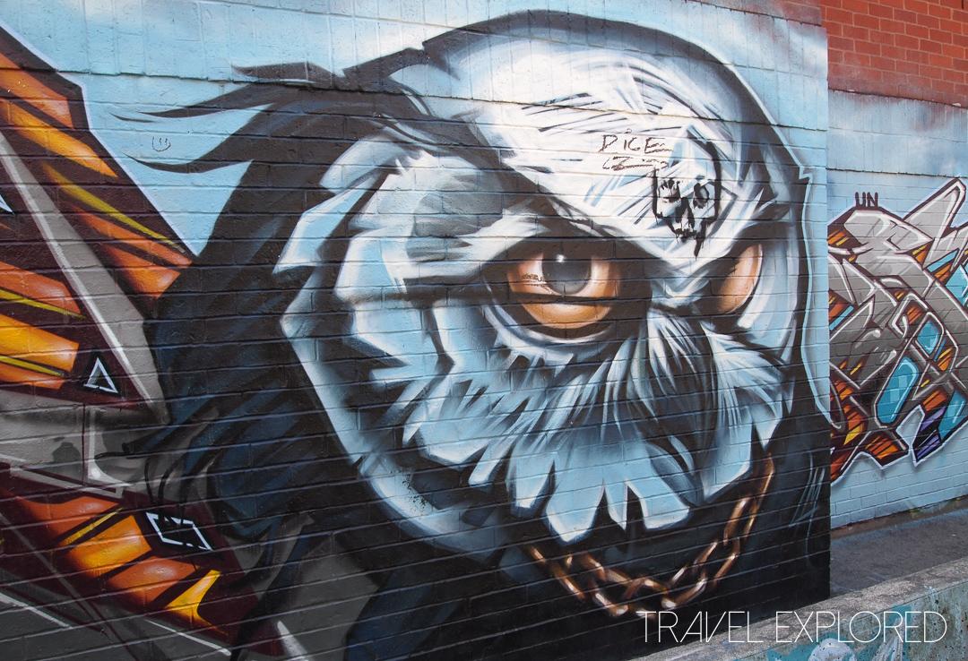 Toronto - Graffiti Alley Owl