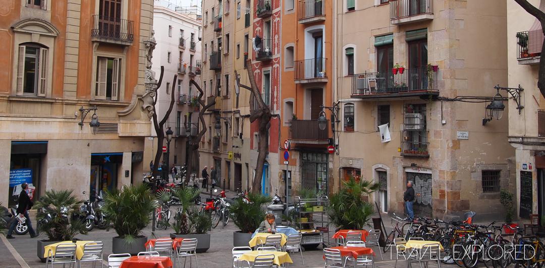 Barcelona - Backstreet Cafes