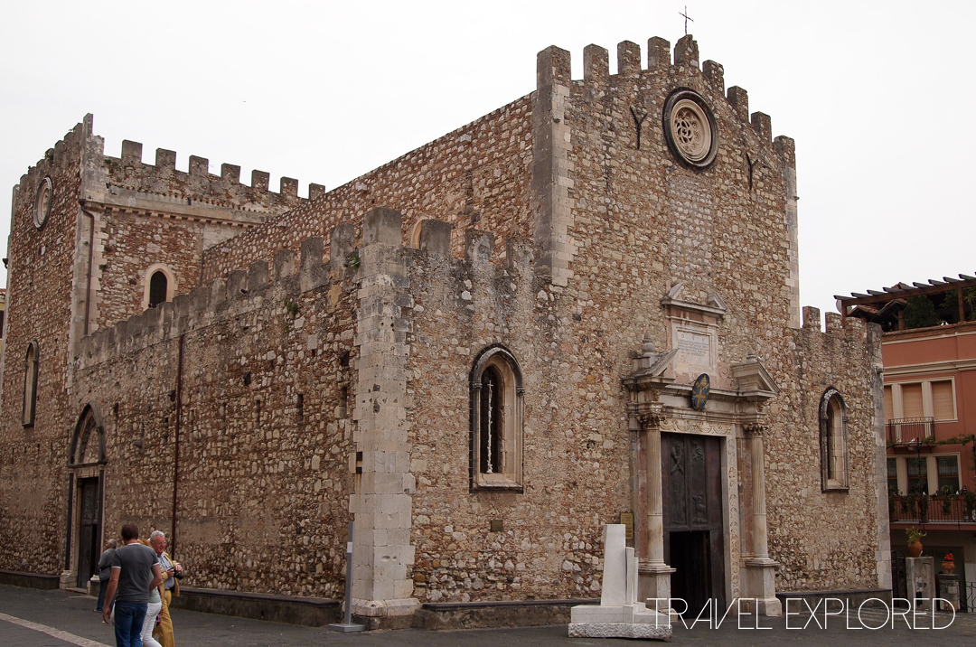Catania - Taormina Church