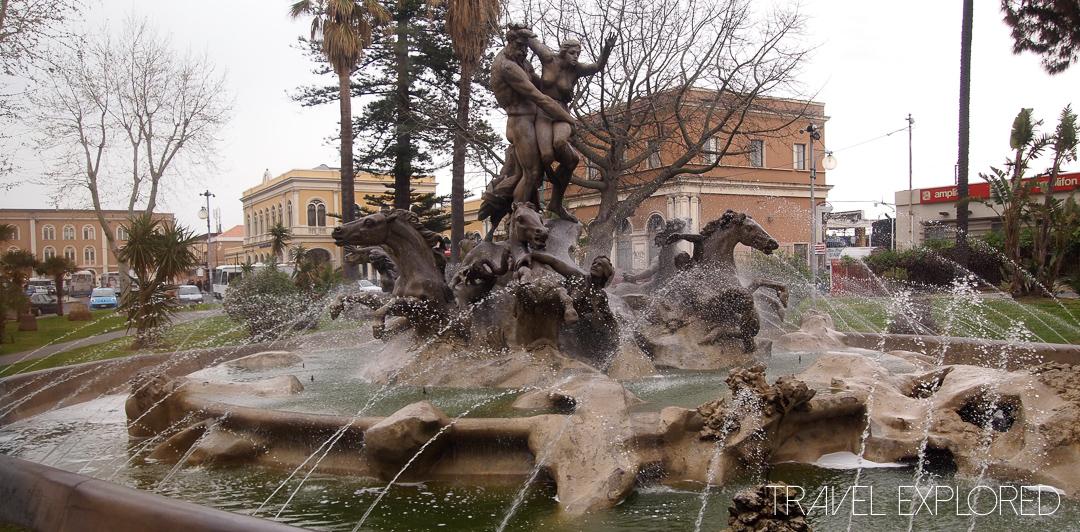 Catania - Fountain