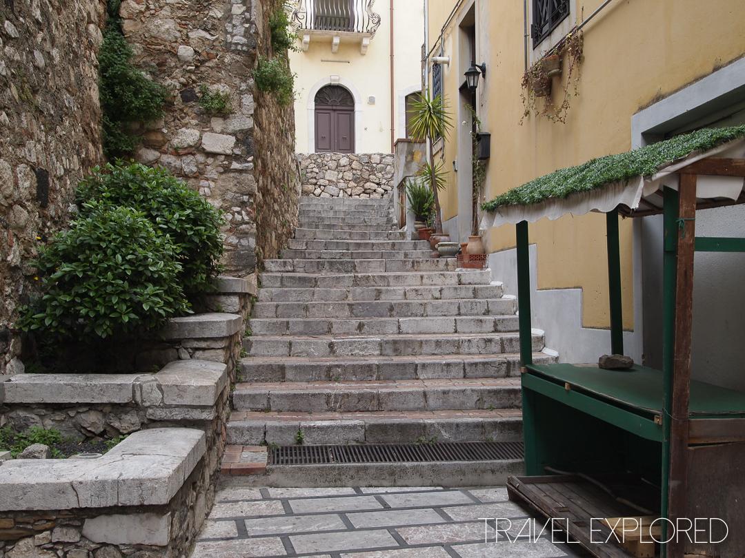 Catania - Quite Laneway in Taormina