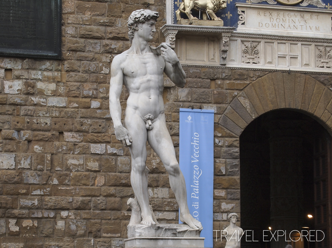 Florence - Replica of Michelangelo's David