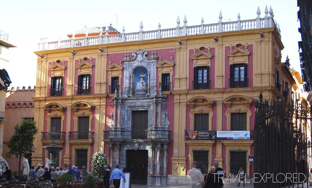 Malaga - Episcopal Palace of Malaga