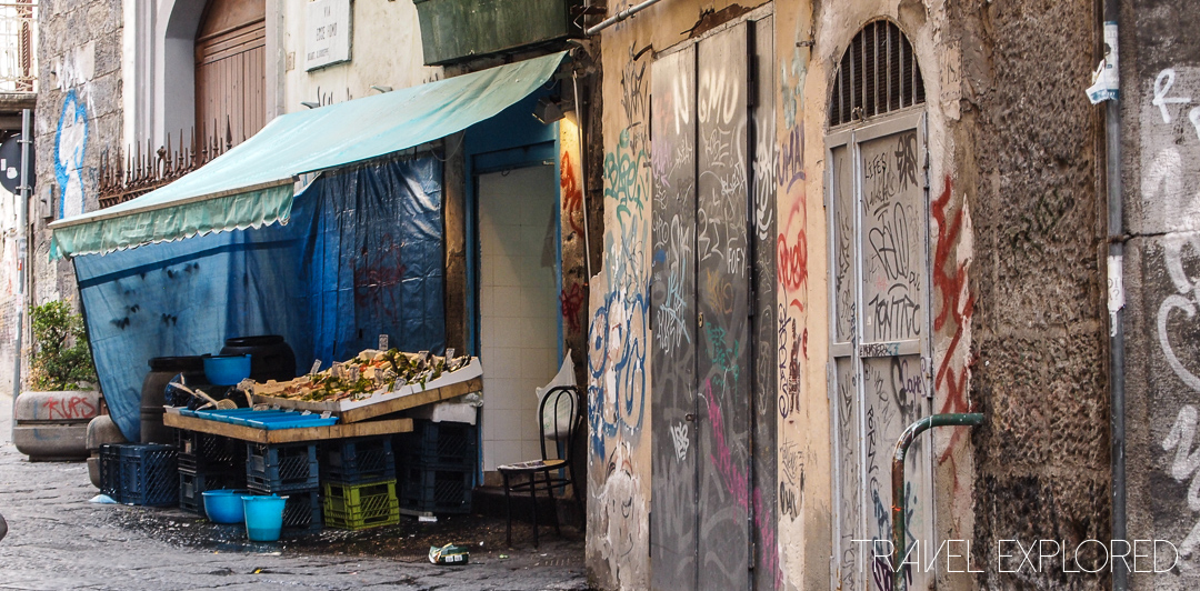 Naples - Fruit and Vegetables for sale