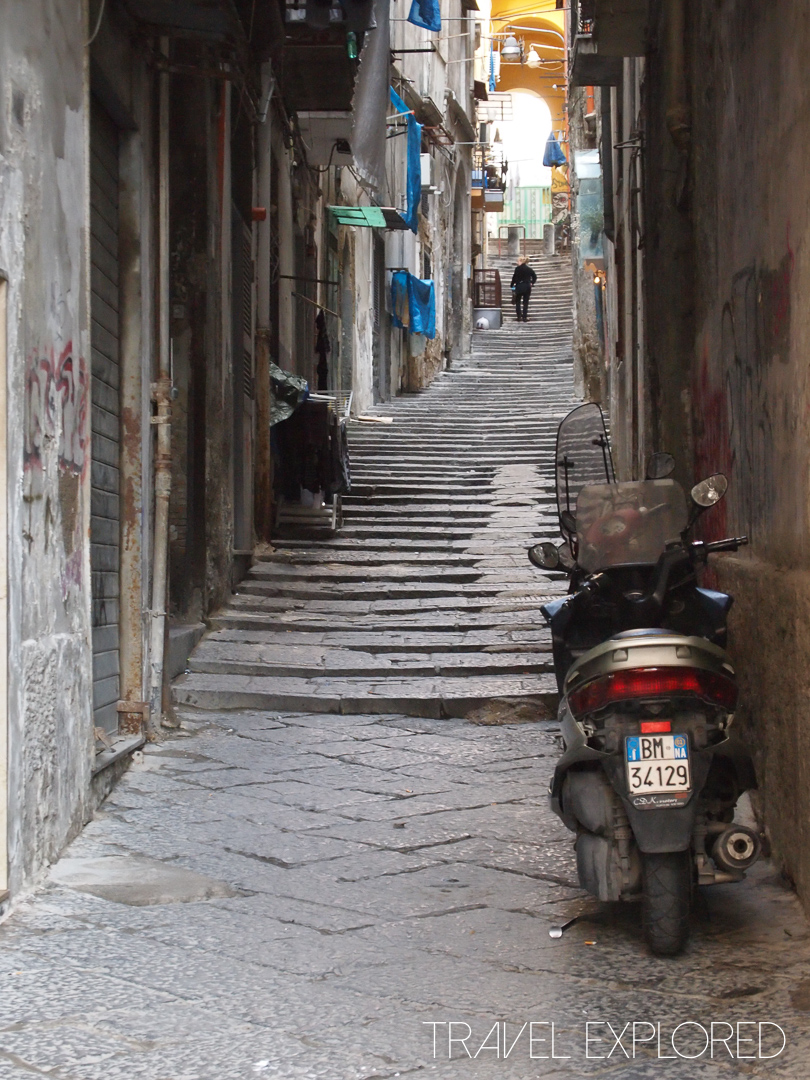 Naples - Stairway