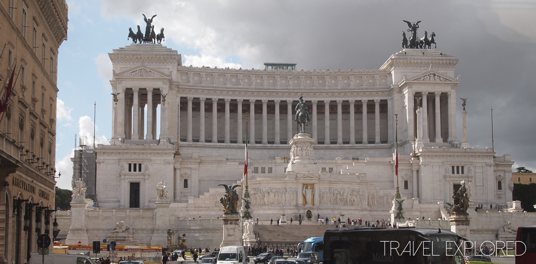 Rome - Emmanuel Monument