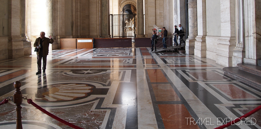 Rome - St Peter's Basilica Entrance Hall