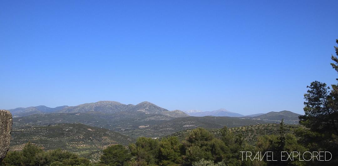 Nafplio - Valley Views from Mycenaean Ruins