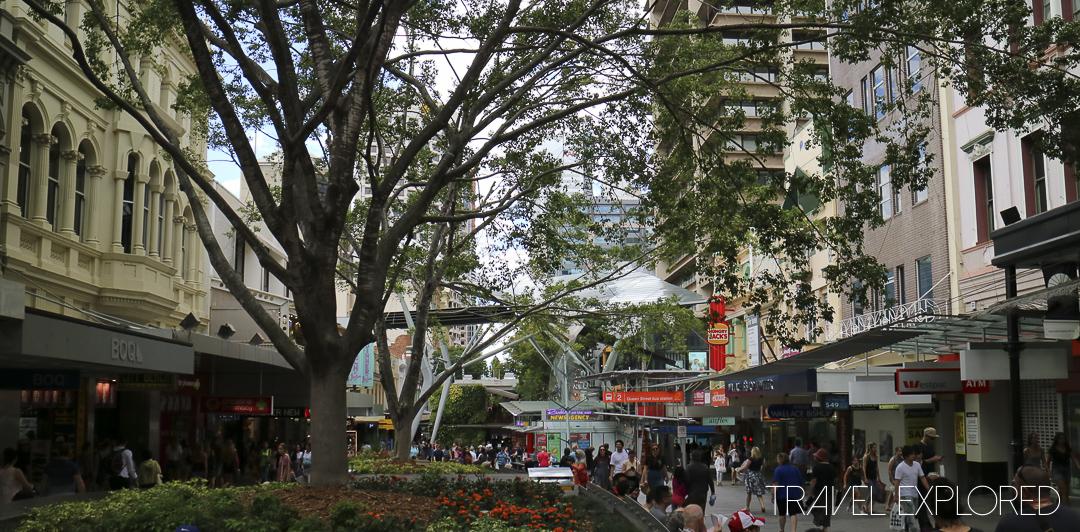 Brisbane - Queen Street Mall