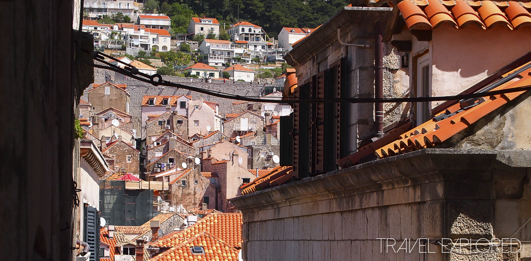 Dubrovnik - Old Town Rooftops