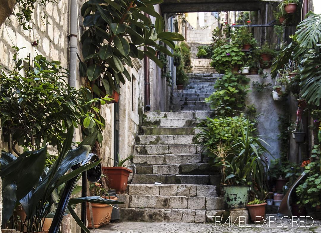 Dubrovnik - Old Town Stairway