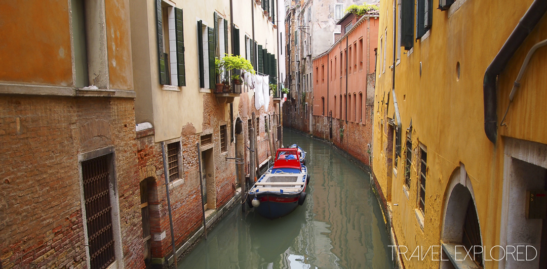 Venice - Colourful Canals