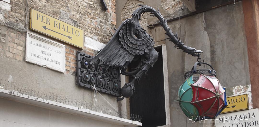 Venice - Dragon Lantern