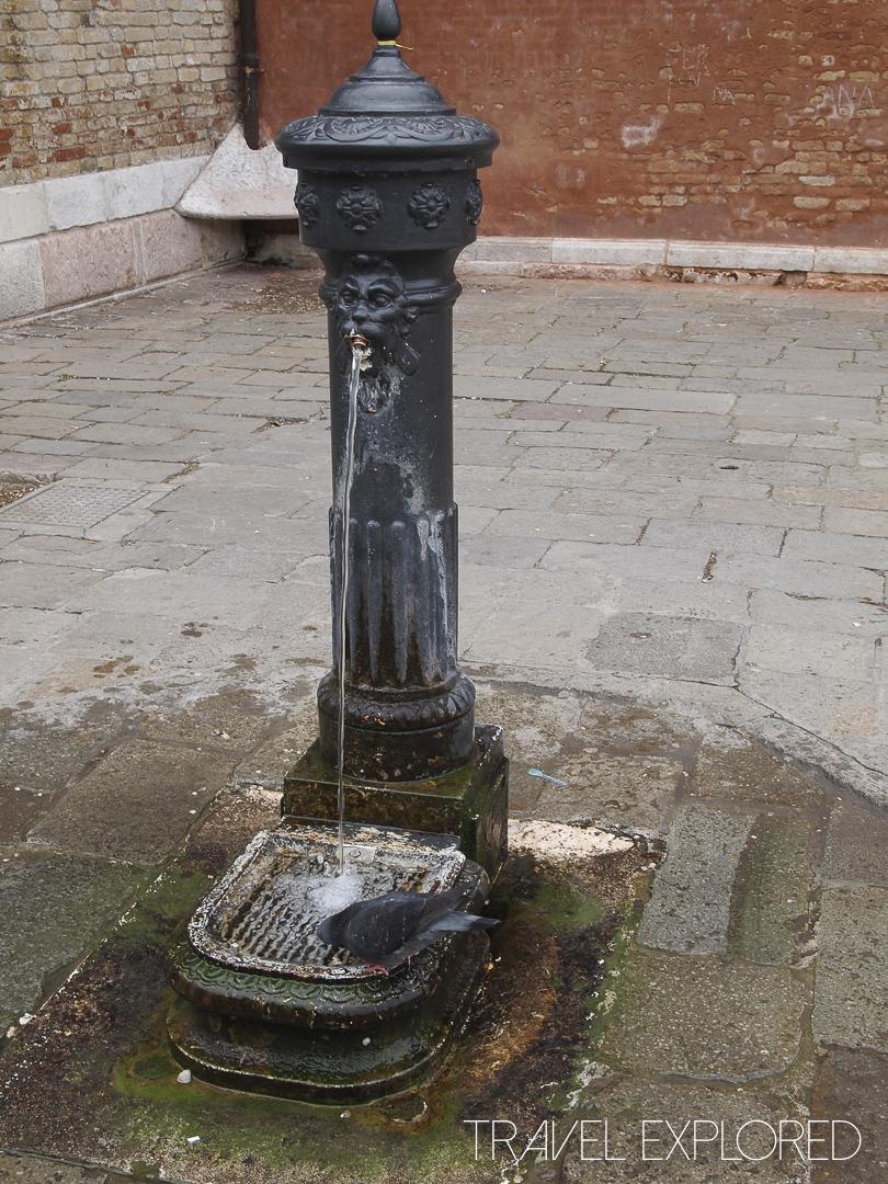 Venice - Water Fountain