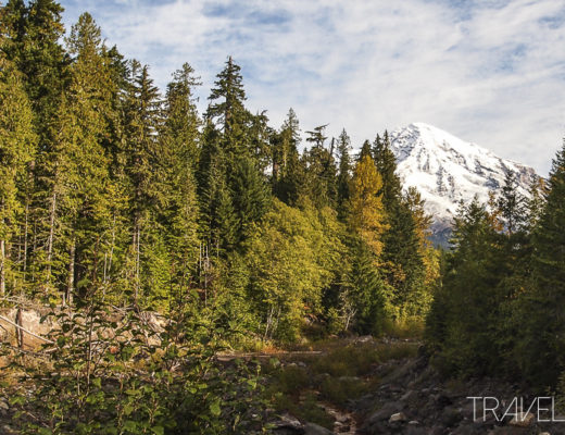 Mount Rainier Peak