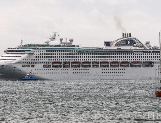 Sun Princess - Departing Auckland