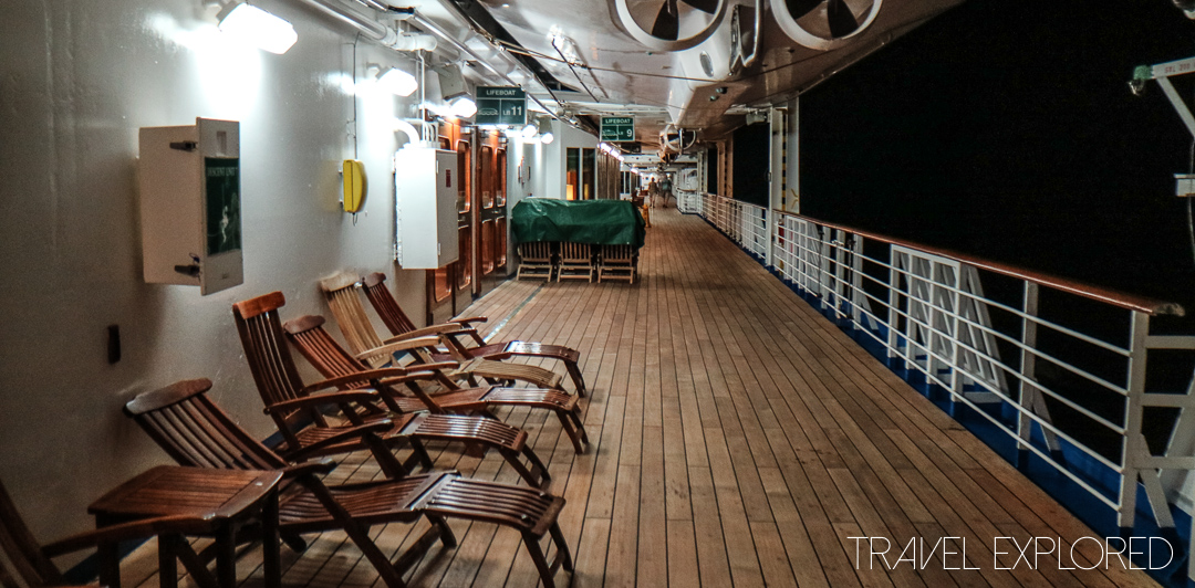 Sun Princess - Promenade Deck