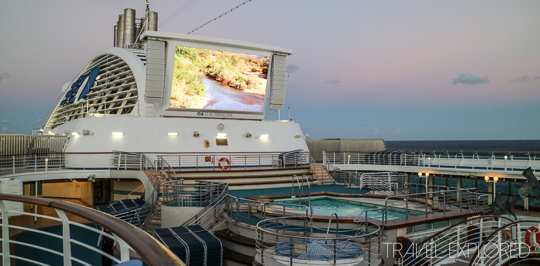 Sun Princess - Movies Under The Stars