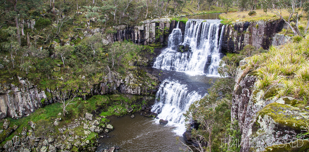 Upper section of Ebor Falls