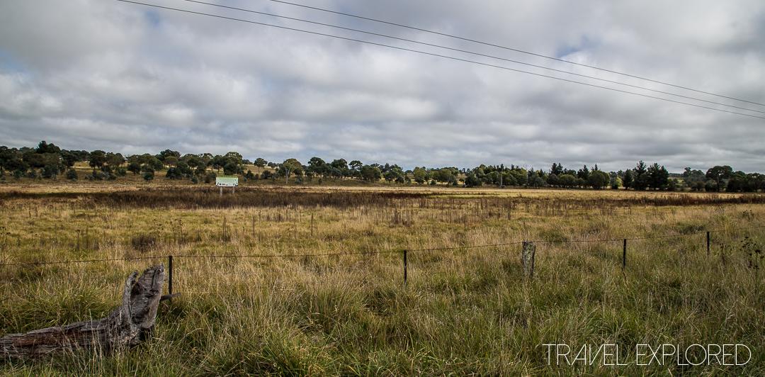Glencoe Barley Field Upland Lagoon