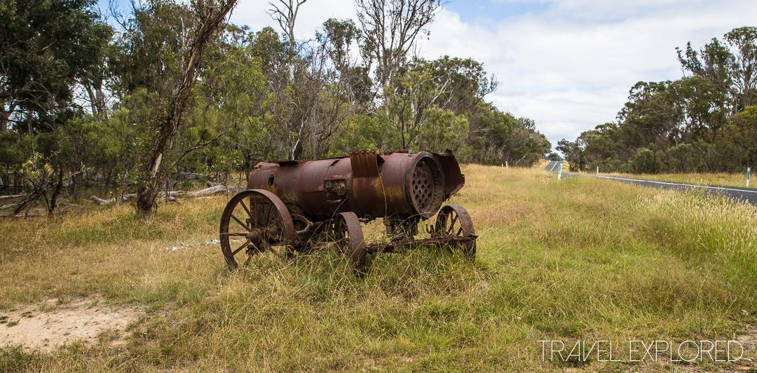 Old Machinery roadside