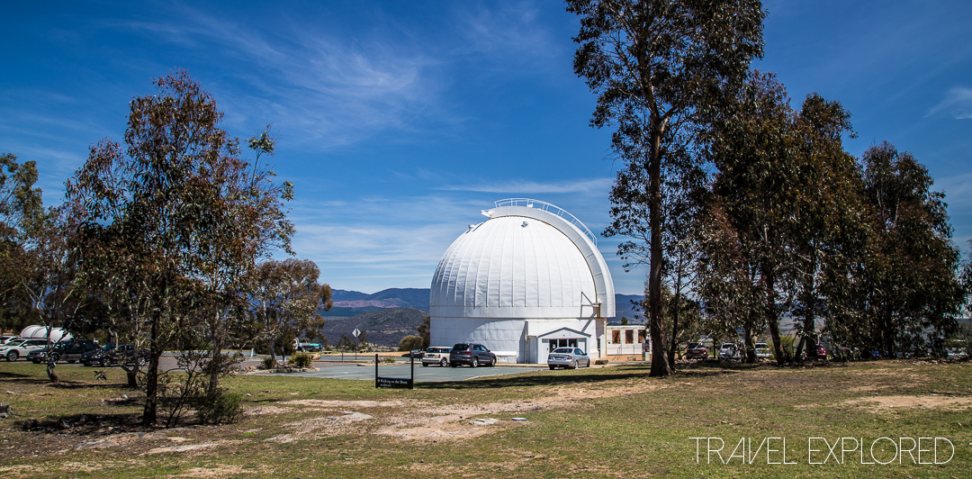 Canberra - Mount Stromlo Observatory destroyed 74in Refractor Telescope Dome