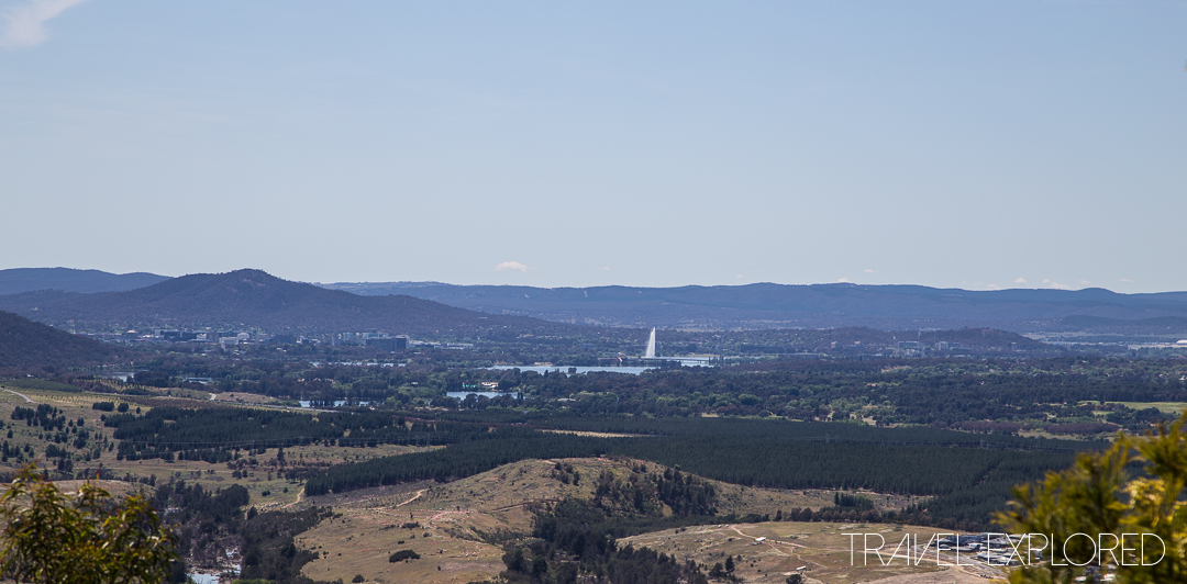 Canberra - Mount Stromlo View of Canberra