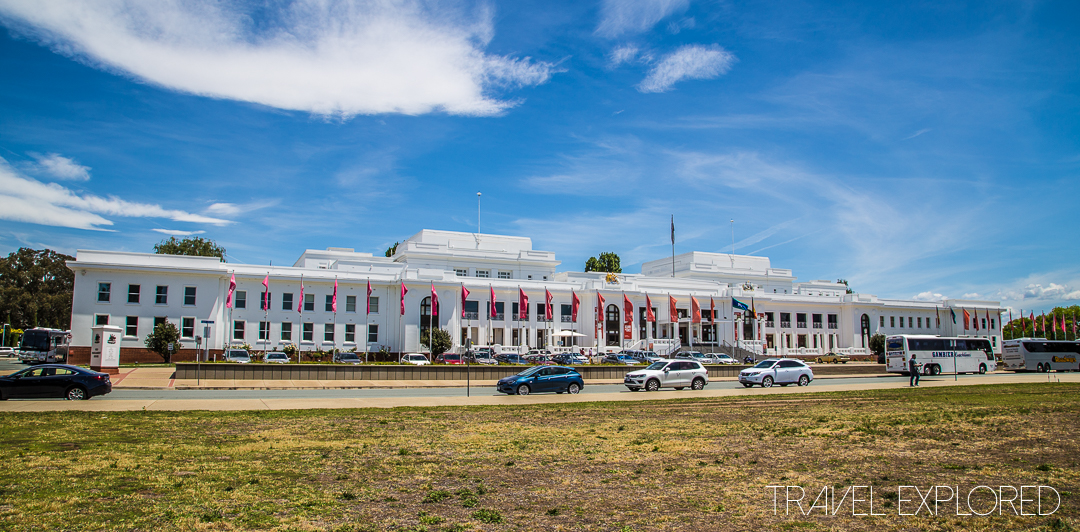 Canberra - Old Parliament House