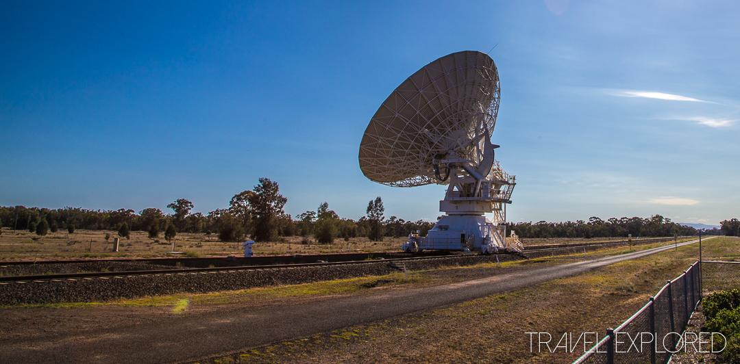 Narrabri - Paul Wild Observatory 1 Radio Telescopes