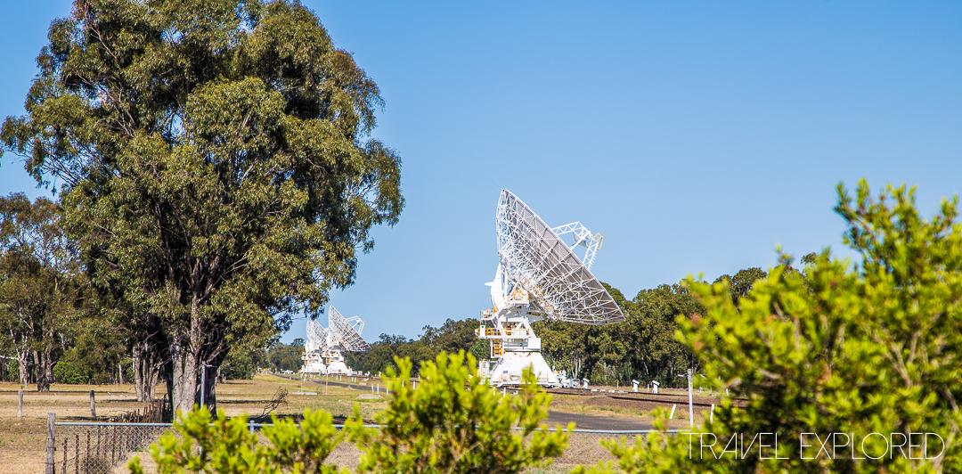 Narrabri - Paul Wild Observatory 4 Radio Telescopes