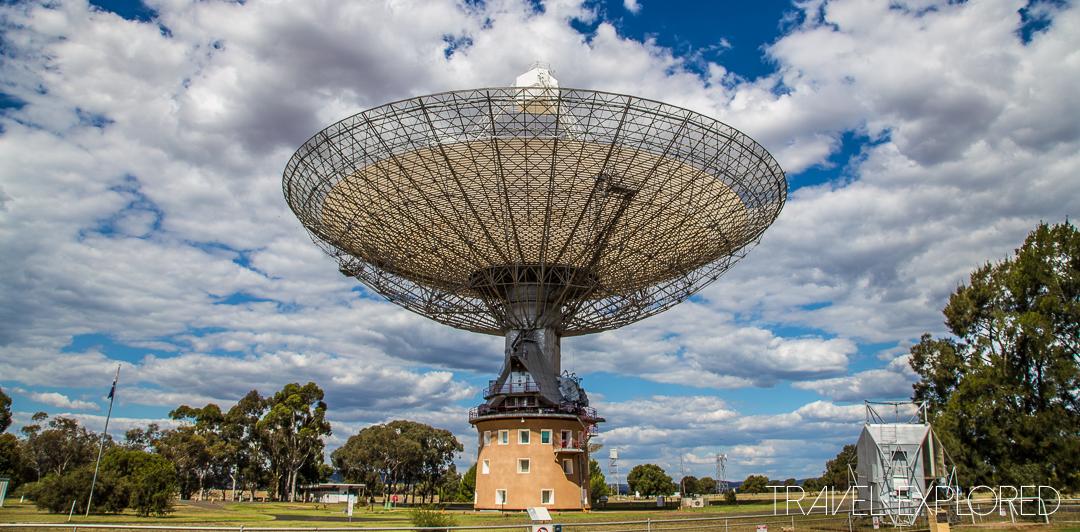 Parkes - Radio Telescope Closeup