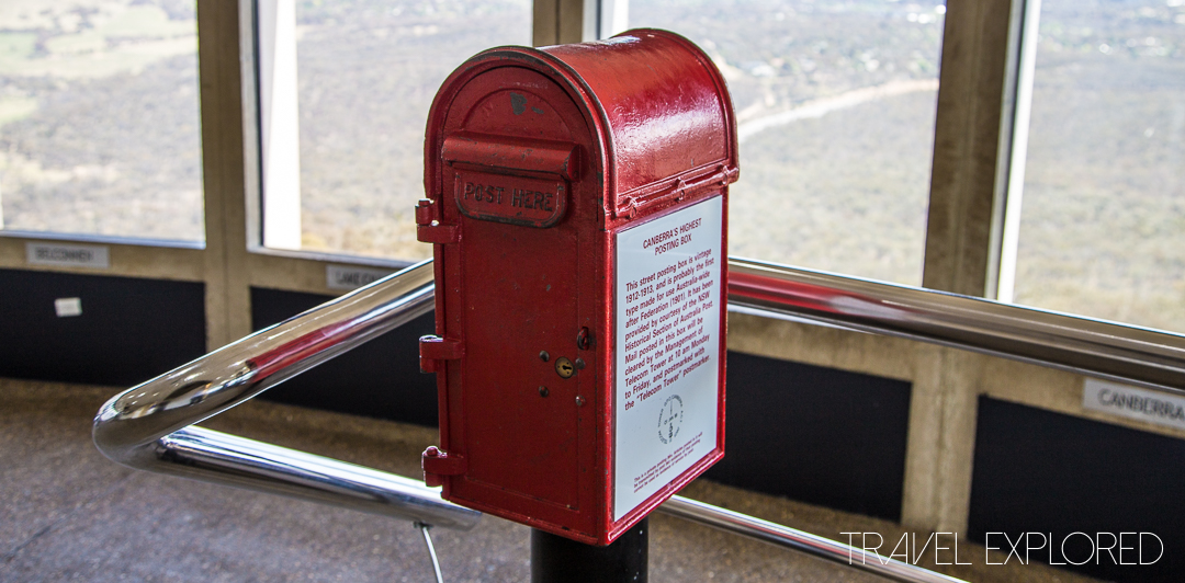 Canberra - Telstra Tower Mailbox