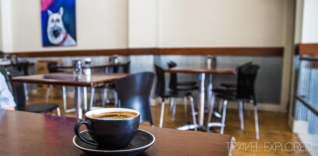Coffee - Cafe Omega, Moree