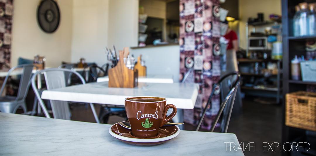 Coffee - Zanzibar Riverside Cafe, West Gosford