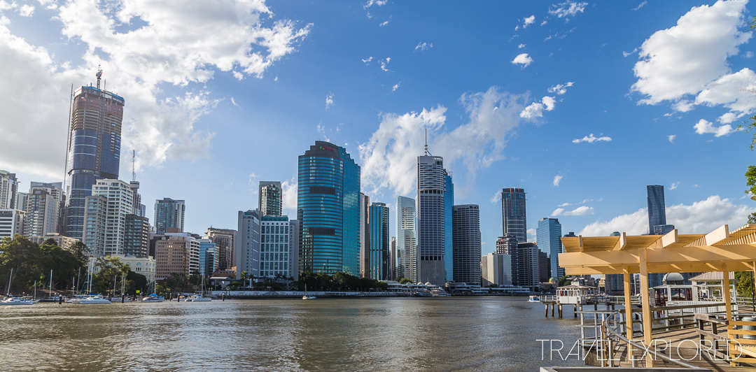 Kangaroo Point - Brisbane City Skyline