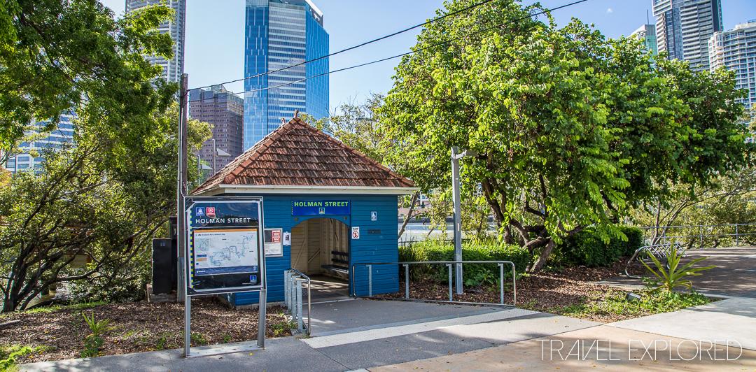 Kangaroo Point - Holman Street Ferry Terminal