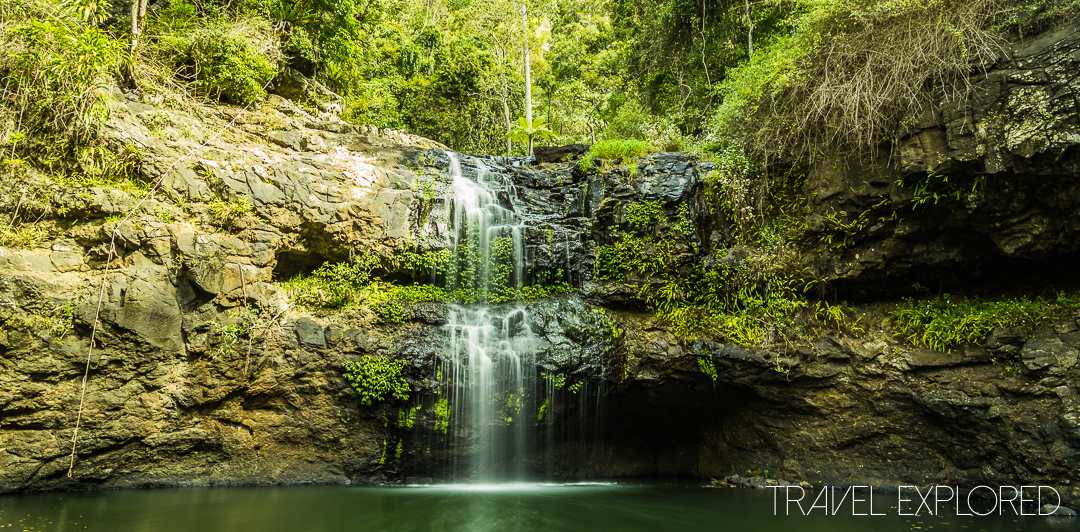 Waterfall - Back Creek Gorge, Gold Coast, QLD