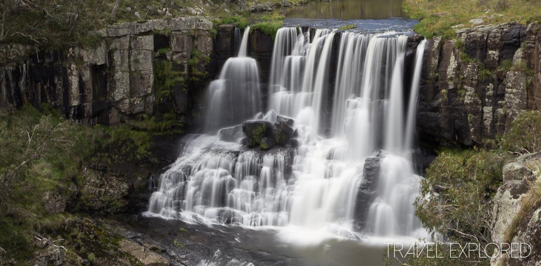 Waterfall - Upper Falls of Ebor Falls, Ebor, NSW