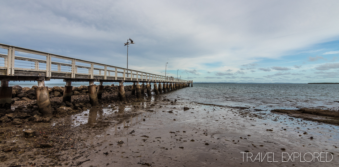Wellington Point - Jetty at low tide