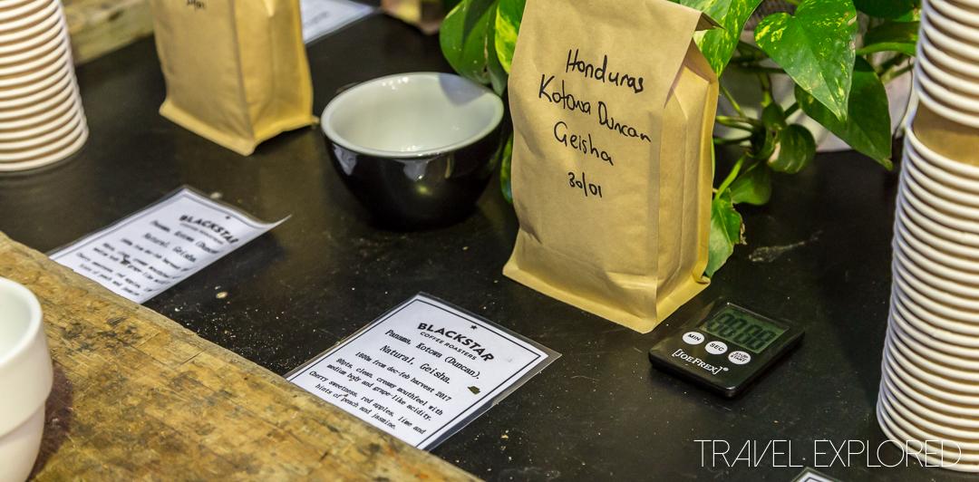 Blackstar Coffee Roasters Cupping - Honduras Single Origin