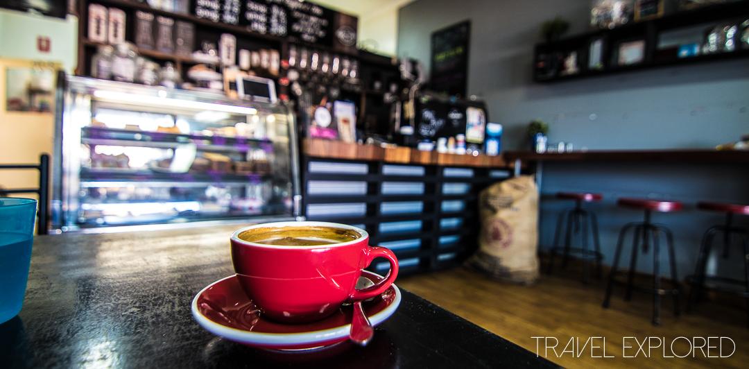 Coffee - The Coffee Door, Ormiston