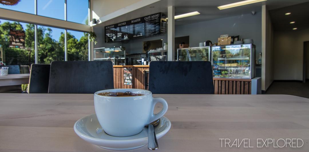 Coffee - The Park Cafe, Redland Bay